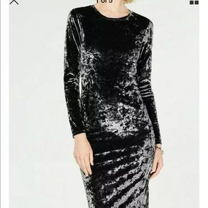 MICHAEL Michael Kors Crushed Velvet Dress S